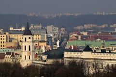 Die alte Stadt von Vilnius Lizenzfreies Stockfoto