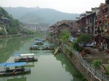 Die alte Stadt von Zhenyuan Stockfotografie
