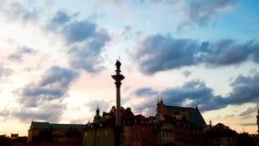 Die alte Stadt in Warschau Stockfotografie