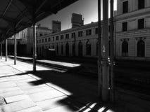 Die alte Station Stockbild