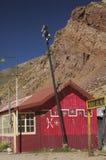 Die alte Station der Brücke des Inkas Lizenzfreie Stockfotografie