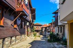 Die alte Straße Stockfoto