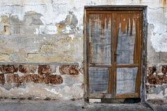 Die alte Tür Stockfotografie