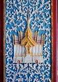 Die alte Tür in Thailand Lizenzfreie Stockfotos