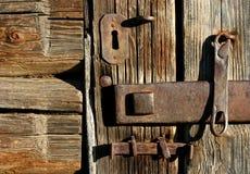 Die alte Verschluss-Zusammensetzung Lizenzfreie Stockfotos