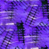 Die alte Verzierung des Schmutzes, die USA zeichnet, zacken aus, blau Lizenzfreie Stockfotografie
