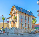 Die alte Villa in Batumi Stockbild