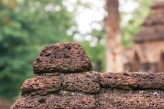 Die alte Wand des alten Ziegelsteines Stockfotos