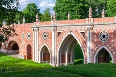 Die alte Ziegelsteinbrücke Stockfotos