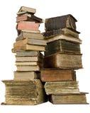 Die alten Bücher lizenzfreie stockbilder