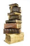 Die alten Bücher stockbild