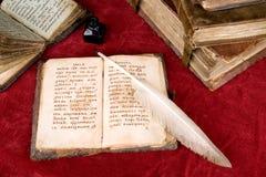 Die alten Bücher lizenzfreies stockfoto