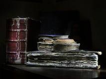 Die alten Bücher Lizenzfreie Stockfotos