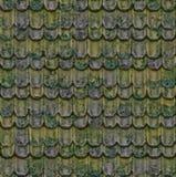 Die alten Dachfliesen. Stockbild