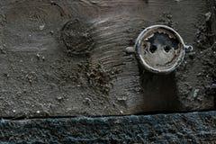 Die alten getragenen Bretter der Beschaffenheit die gebrochene Farbe, Lizenzfreie Stockbilder
