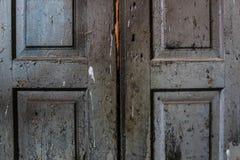 Die alten getragenen Bretter der Beschaffenheit die gebrochene Farbe, Stockfotografie