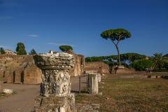 Die alten Ruinen in Rom Lizenzfreie Stockbilder