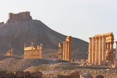 Die alten Ruinen von Palmyra, Syrien lizenzfreies stockbild