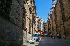 Die alten Straßen von Toledo Lizenzfreie Stockfotos