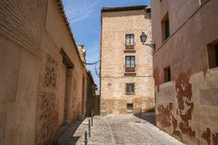 Die alten Straßen von Toledo Lizenzfreie Stockfotografie