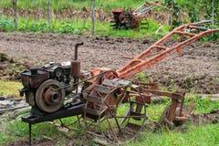 Die alten Traktoren Stockbild