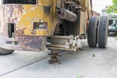 Die alten Traktoren Stockfotografie