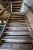 Die alten Treppen Stockfotos