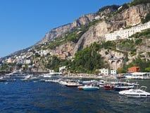 Die Amalfi-Küste Lizenzfreie Stockfotografie