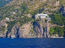 Die Amalfi-Küste Stockbilder