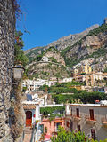 Die Amalfi-Küste Lizenzfreie Stockbilder