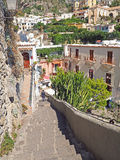 Die Amalfi-Küste Lizenzfreies Stockfoto