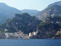 Die Amalfi-Küste Stockfoto