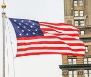 Die amerikanische Flagge Stockfoto