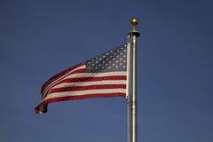 Die amerikanische Flagge Stockfotos