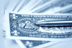 Die amerikanischen Dollar Lizenzfreie Stockbilder