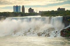 Die amerikanischen Fälle, Niagara Stockbild