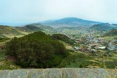 Die Anaga-Berge im Norden von Teneriffa lizenzfreies stockfoto