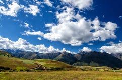 Die Anden in Peru Lizenzfreies Stockbild