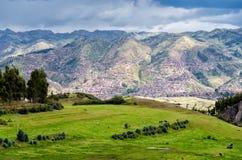 Die Anden in Peru Stockbild