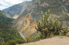 Die Anden in Peru Stockfotos