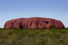 Die andere Seite des Ayers Felsens Stockbilder