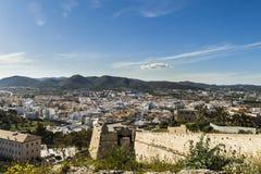 Die andere Seite von Ibiza Stockbilder