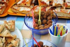 Die angefüllten Oliven von Ascoli Piceno Lizenzfreie Stockfotos