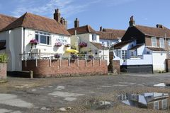 Die Anker-Bleu-Kneipe in Bosham sussex england Stockbilder