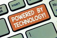 Die Anmerkungsvertretung schreiben angetrieben durch Technologie Geschäftsfoto Präsentationsdurchbruch führte zu die breite Komme lizenzfreie stockfotos