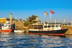 Die Ansicht über goldenes Horn, Istanbul die Türkei Lizenzfreie Stockfotos