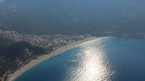 Die Ansicht der Berge und des Meeres 9 Stockfoto