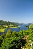 Die Ansicht der Königin in Loch Tummel - Schottland, Großbritannien stockfotografie