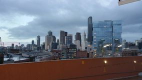 Die Ansicht der Stadt von Seattle Lizenzfreies Stockfoto