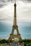 Die Ansicht des Eiffelturms, Paris, Frankreich Lizenzfreie Stockbilder